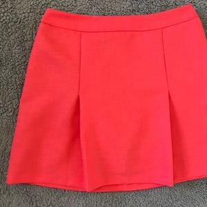 NWT Topshop Pleated Mini Skirt Hot Pink
